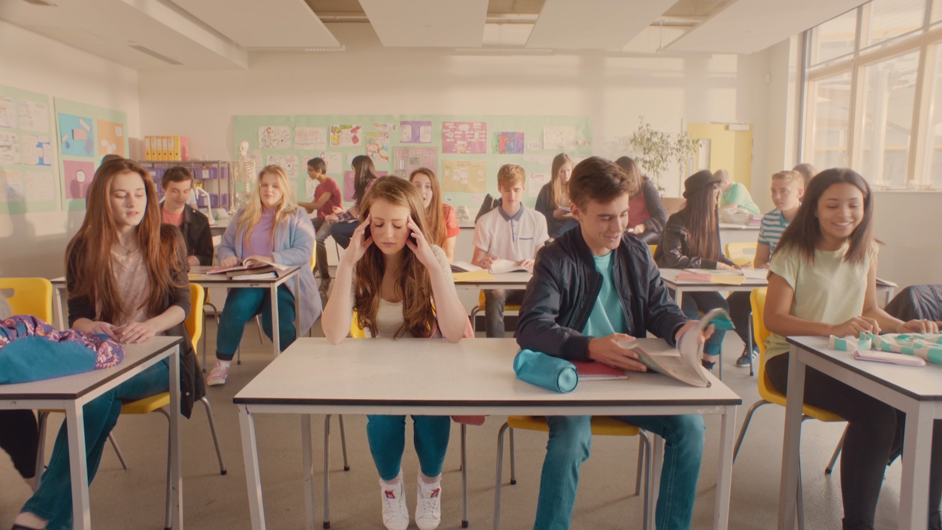 Video production still of Barclays Beat Bullying film by Vismedia