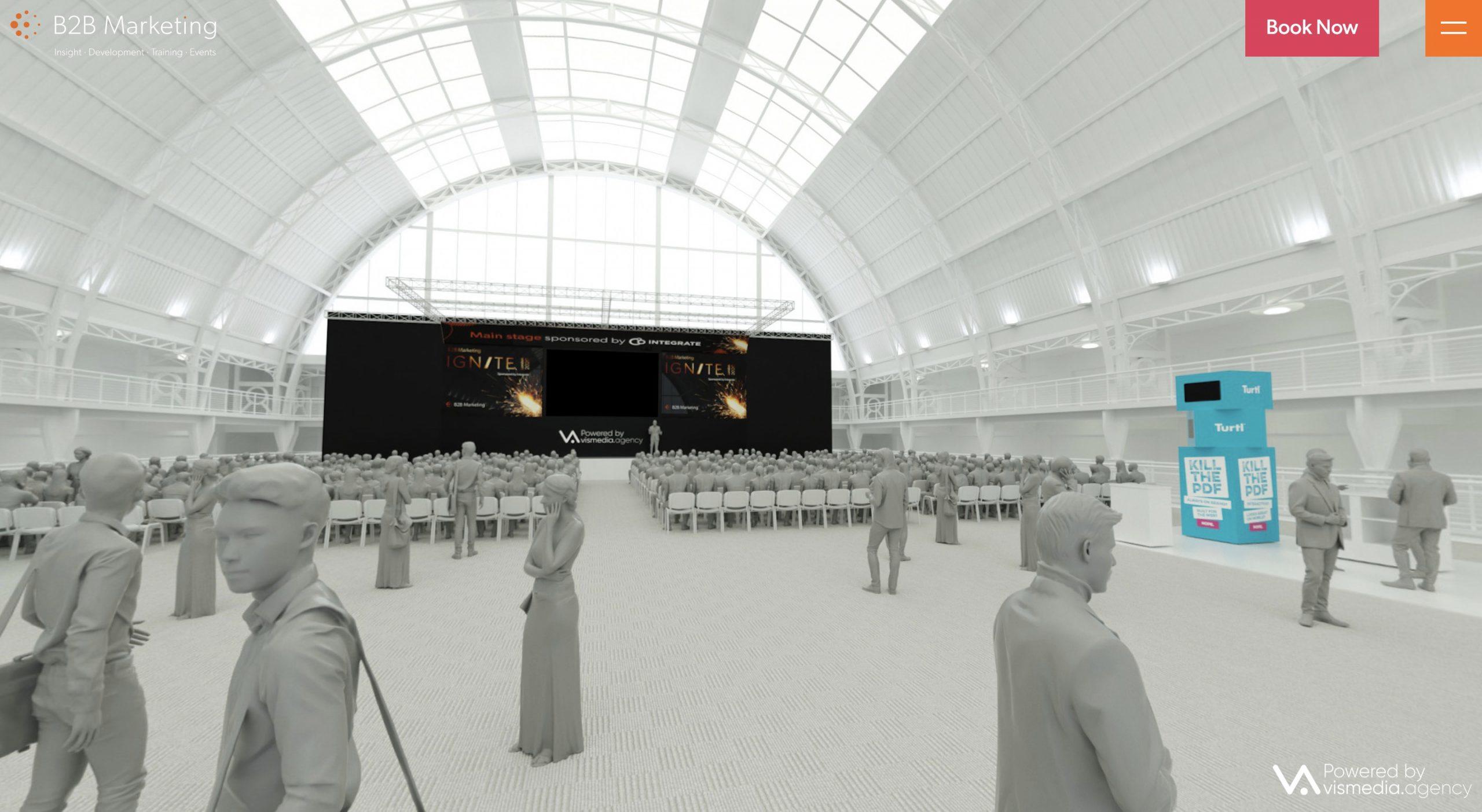 Ignite London interactive content marketing experience