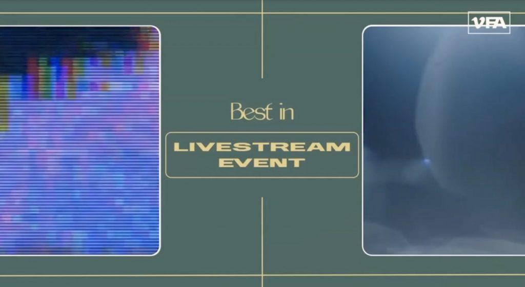 Vismedia Vimeo Best Live Stream Event Winner