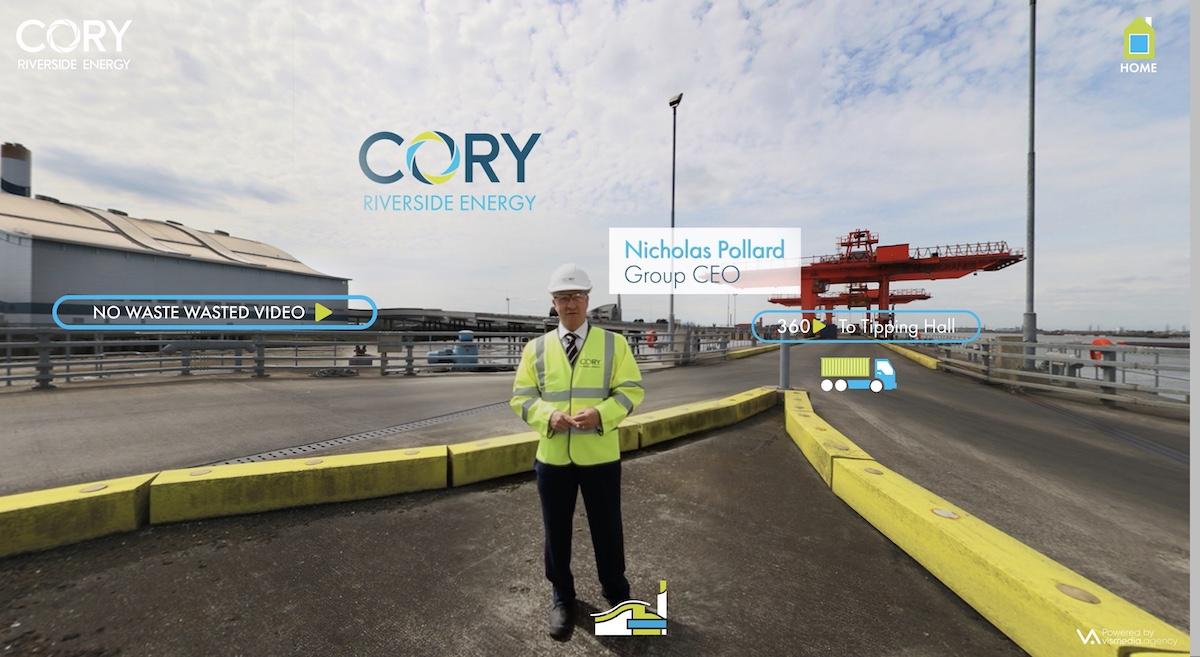 Cory Riverside Energy digital destination