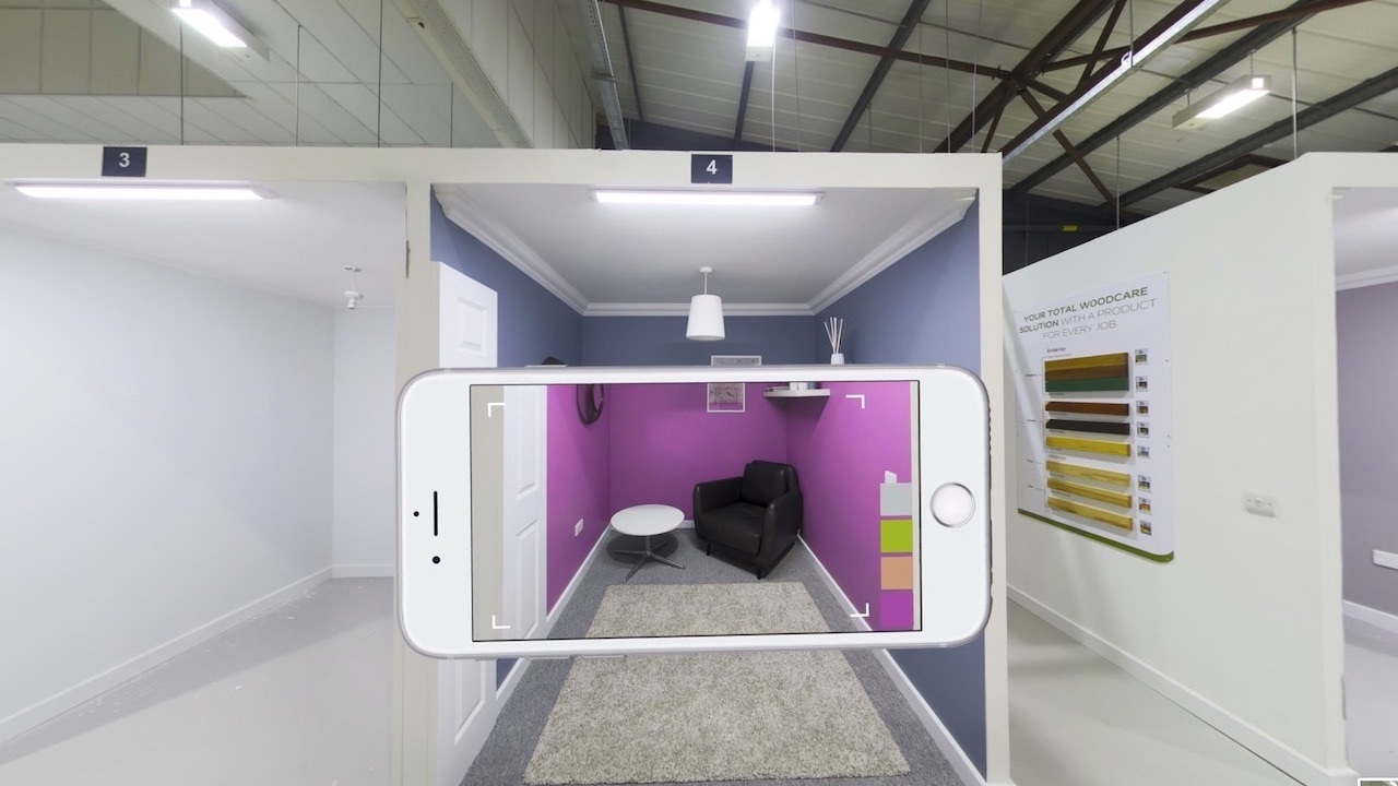 Dulux Academy 360° interactive and immersive experience