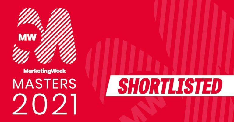 Vismedia shortlisted for 2021 Marketing Week Masters Awards