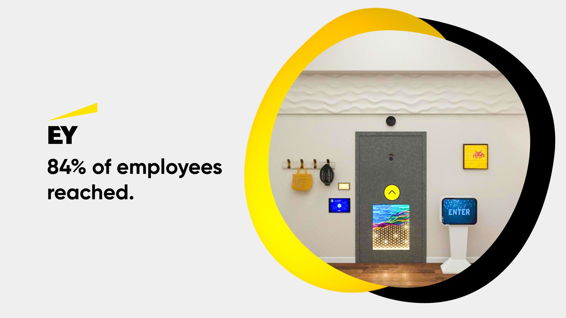 Screenshot of EY employee training and learning experience